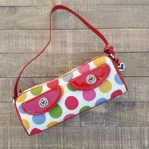 🚫Sold🚫BRIGHTON Small Multi Color Polka Dot Bag